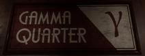 Gamma Quarter Sign