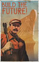 Build The Future! Poster
