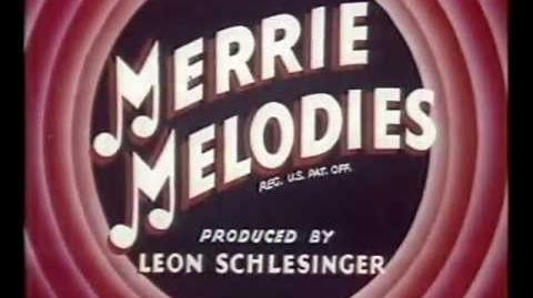 """UA Hexagon- from a print of the Merrie Melodies cartoon """"Case of the Missing Hare"""" (1942)"""