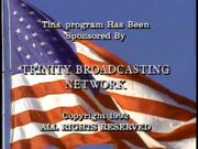 TBN Praise the Lord Copyright Close 1992