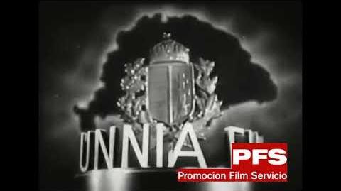 Hunnia Film logo (1941)