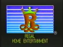 Regal Home Entertainment Extrmely rare.