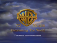 Warner Bros. Pictures 75 Years Logo (4 3 Aspect Ratio Version)