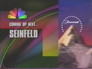 VERY LARGE Paramount mountain on a 1994 Wings aring on NBC