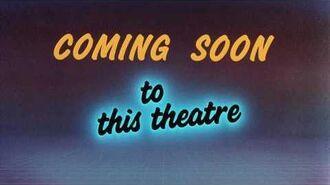 Cinemark Front Roe Joe 2 Coming Soon snipe (1989)