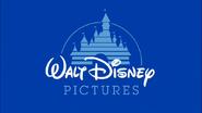 Walt Disney Pictures 1990 Logo (Seventh Flag Variant)