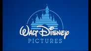 Walt Disney Pictures 1990 logo (Cel Animated Version)