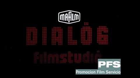 Mafilm Dialog Filmstudio logo (1981)