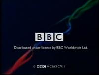 BBC VIDEO CLOSING IDENT LATE 1997