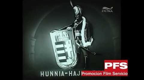 Hunnia Hajdu Film logo (1943)
