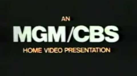 MGM-CBS Home Video (1978) HQ