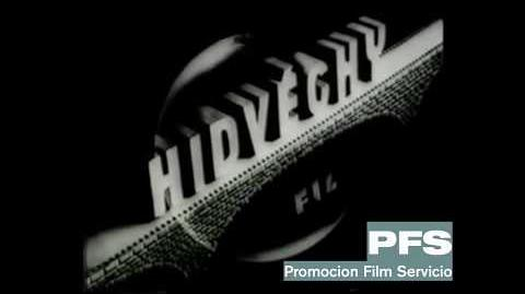 Hidveghy Film logo (1943)
