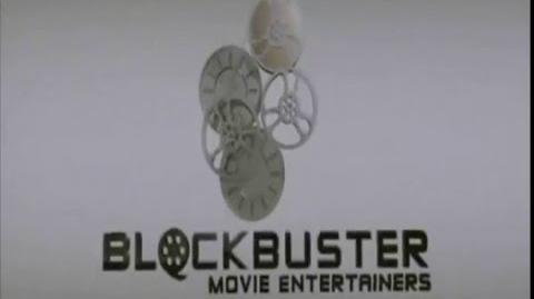 Blockbuster Movie Entertainers Logo
