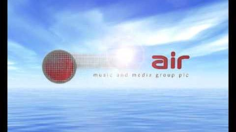 Air Music and Media Group plc Hollywood DVD (2004) DVD UK Logo
