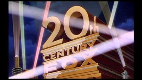 20th Century Fox logo (1935) widescreen and color