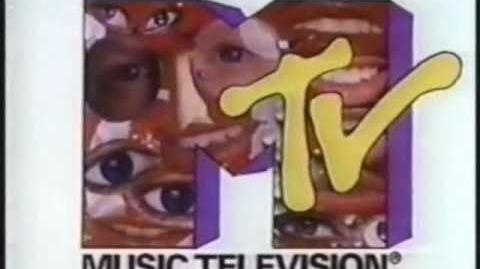MTV ident - Faces