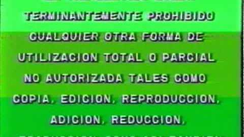 Legal Video SA - Video Niño 1987 (VHS Argentina)-1