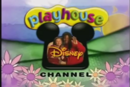Playhouse Disney logo (Out of The Box Variant)