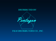 Pentagon Film Distributors Co , Inc 1943-1944 Logo