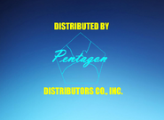 Pentagon Distributors Co , Inc 1969-1974 Logo
