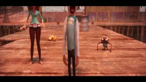 Cloudy With a Chance of Meatballs - trailer 1
