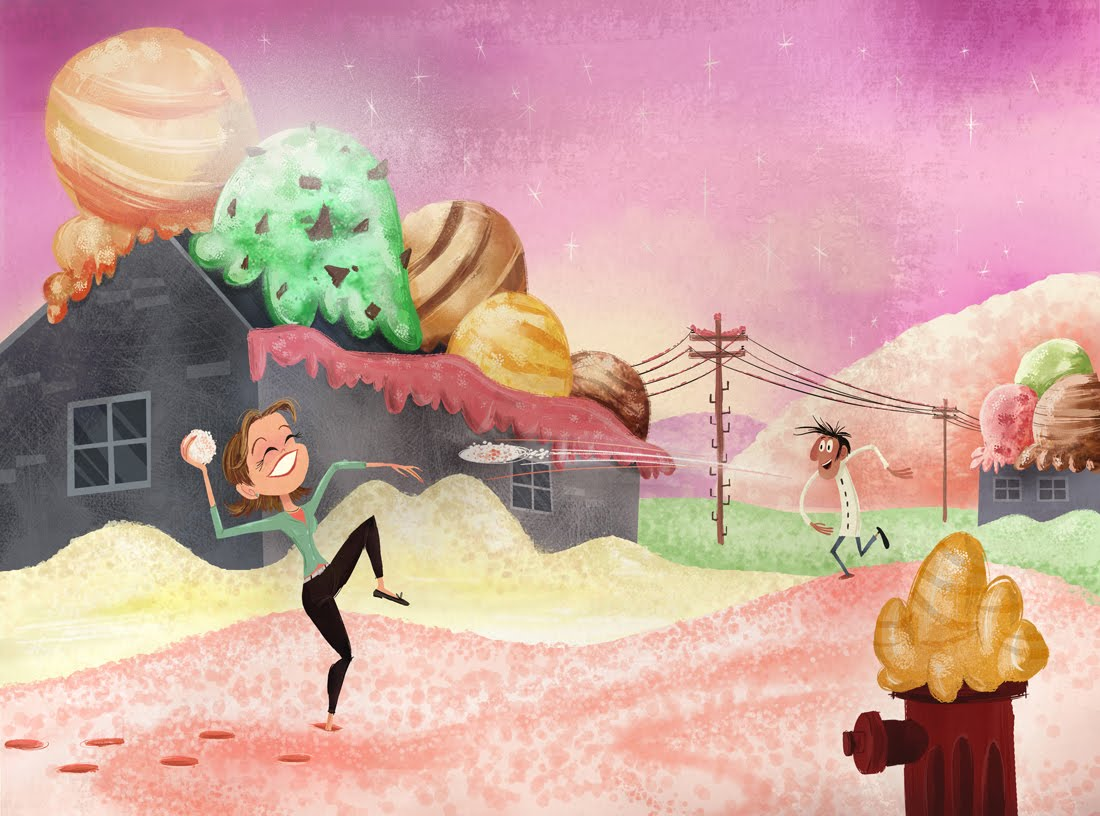 Image - FlintSamConceptArt.jpg | Cloudy with a Chance of Meatballs ...