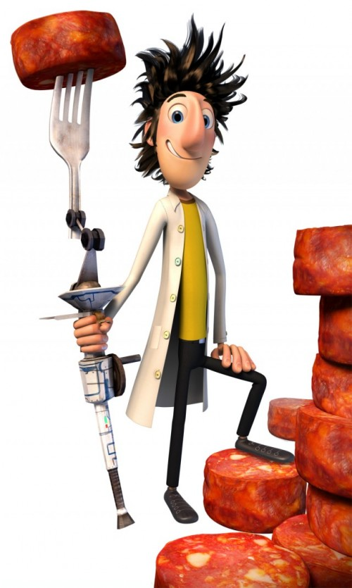 Cloudy With A Chance Of Meatballs Character Renders 3