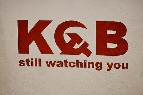 KGB- still watching you