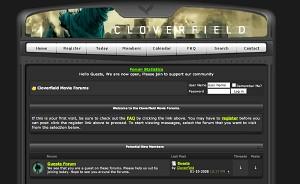Cloverfieldmovieforums