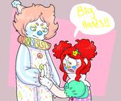 Big hands!!