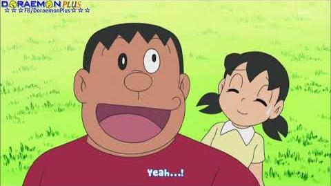 Doraemon Episode 455 Birthday Special Genius Nobita's Airship Amusement Park HD In Engsub