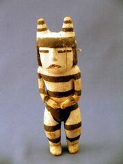 Koshare kachina 19th cent-1-