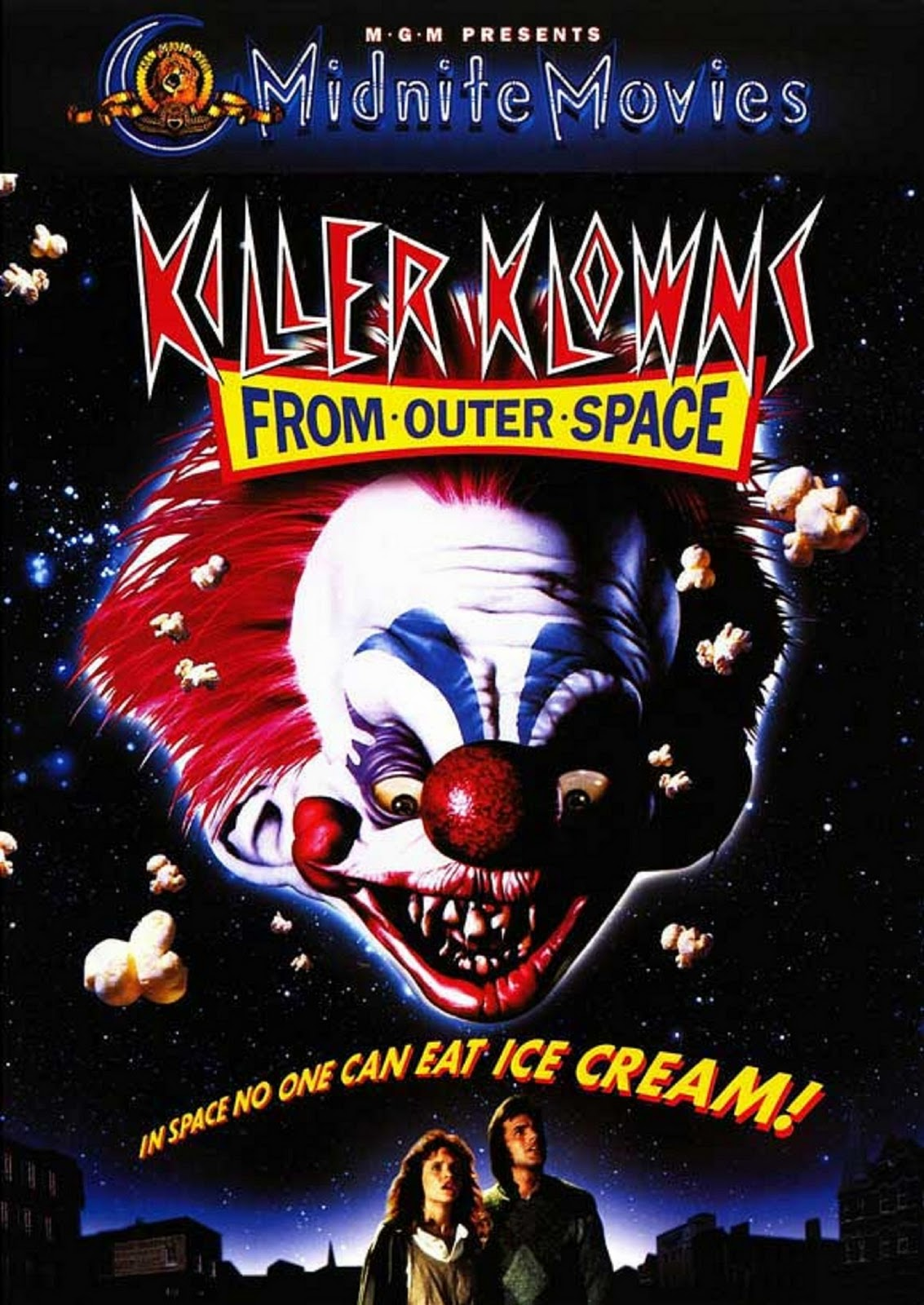 Image result for killer klowns from outer space movie poster