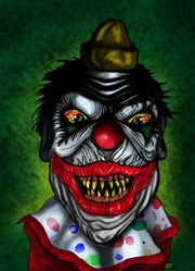 Demonic clown ii by derfanboy-d32x0kz