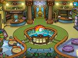 Puffle Hotel Lobby