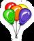 Ballons Pin