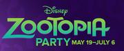 Zootopia Party Logo