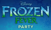Frozen Fever Party Logo