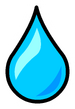 Water droplet Pin icon