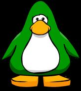 Green Player Card