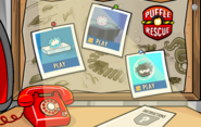 Puffle Rescue Menu