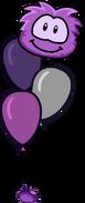 Purple Puffle Balloon