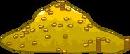 Aqua Grabber coin pile
