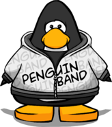 Penguin Band Hoodie PC