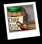 Cream Soda Background Icon