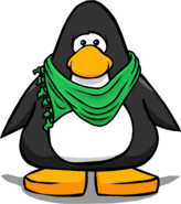 Green Designer Scarf PC