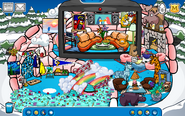 Candy Igloo - Mid April 2020 - Club Penguin Rewritten