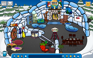 JJ Sykes Igloo - Early January 2020 - Club Penguin Rewritten