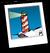 Lighthouse Background Icon