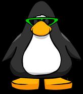 Green Sunglasses PC